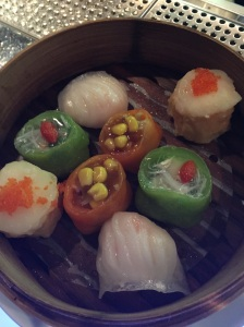 A dim sum teaser at Hakkasan -- going back for a full round soon!